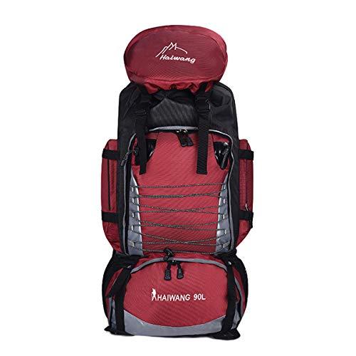0644805d36 Skudy 90L Grande capacità Zaino Outdoor Multitasche Impermeabile Zaino  Campeggio Uomo Zaino Trekking Maschio Zaino Escursionismo