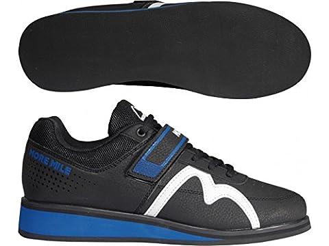 More Mile More Lift 3Sportschuhe zum Cross-Fit / Gewichtheben, Unisex, schwarz / blau