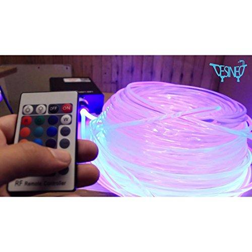 Generator-Licht 45W für Glasfaser für Pool, Sternenhimmel Beleuchtung Led (Generator-schalter)