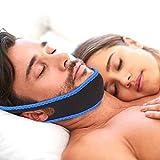 Bâton de marche Anti ronflement sangle de mâchoire arrêt confortable dispositifs de ronflement Aujustable anti ronflement menton bandeau for hommes et femmes