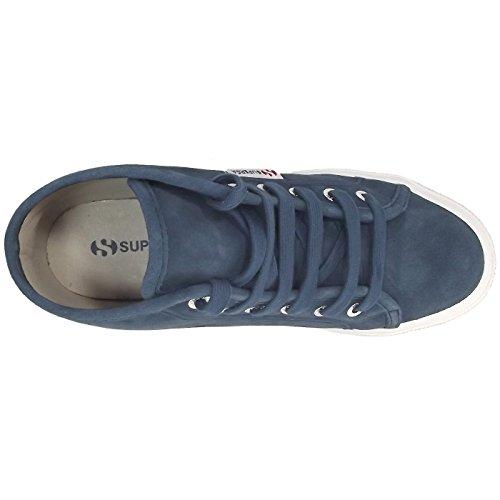 Superga 2095 Sueu S0028C0 Damen Sneaker dunkelblau (blue night shadow)