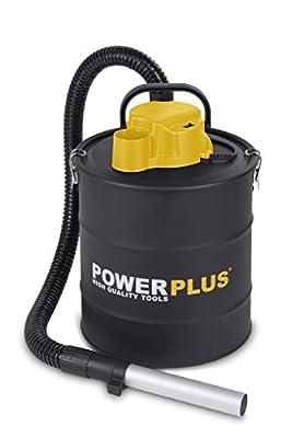 Powerplus powx300Ash Vacuum Cleaner 20Litre, 1200W, 240V)