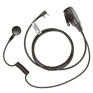 2 x MP Écouteur pour KENWOOD Radio