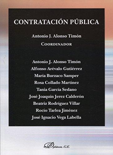 Contratación Pública por Antonio Jesús Alonso Timón