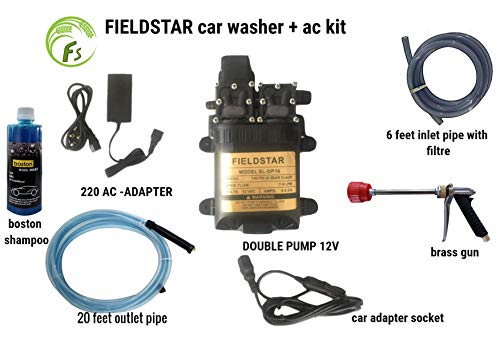 Boston Fieldstar High Pressure Washer Power Jet Wash Cleaner 12V...