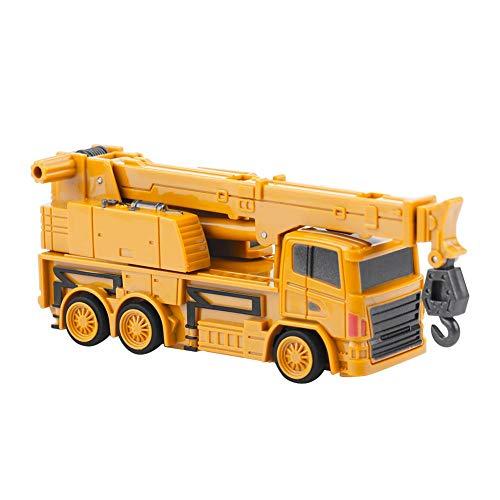 RC Auto kaufen Baufahrzeug Bild: Fernbedienung Bagger LKW Bagger Spielzeug RC Kran Mini Baufahrzeug Kinder Geschenk(Kran)*