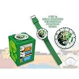 Kids Licensing–SW14044–Star Wars VII–Geschenk-Set–4in 1 Armbanduhr–Spardose–Wecker und Bilderrahmen Yoda
