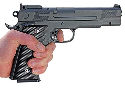 Nerd Clear Metall Pistole 1 zu 1 Nachbau für Film und Karneval G20-12247
