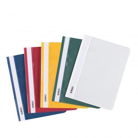 Preisvergleich Produktbild SCHNELLHEFTER PP A5 F.S. 10 Stück