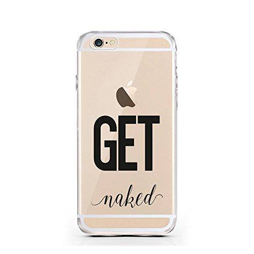 iPhone 7 Hülle von licaso® für das Apple iPhone 7 aus TPU Silikon Can't Stop thinking about it - BUY it Fashion Design Muster ultra-dünn schützt Dein iPhone 7 & ist stylisch Case Design Schutzhülle Bu GET naked