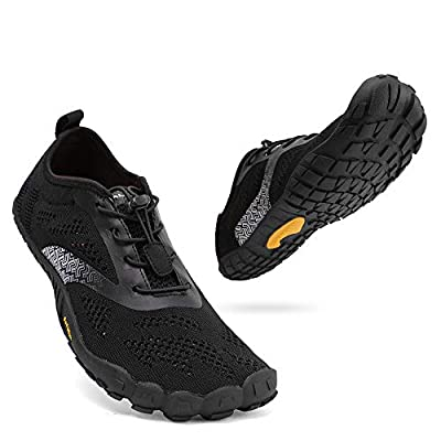 hiitave Unisex Barefoot Running Shoes Wide Toe Box Trainers
