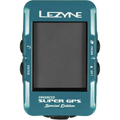 Lezyne Super GPS Special Edition 1de GPS de spr-69HC-V210Ordenador, Azul, One Size
