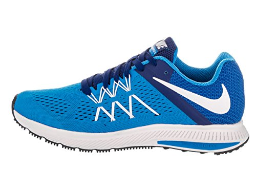 Nike Herren Zoom Winflo 3 Laufschuhe Azul (Photo Blue / White-Dp Royal Blue)