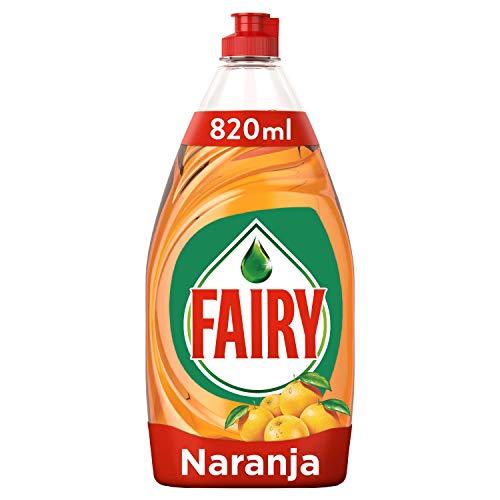 Fairy Limpio & Fresco, Naranja, Líquido para Lavavajillas - 820ml