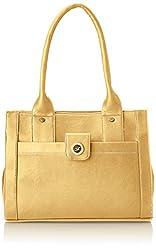 Fostelo Women's Handbag (Beige) (FSB-358)