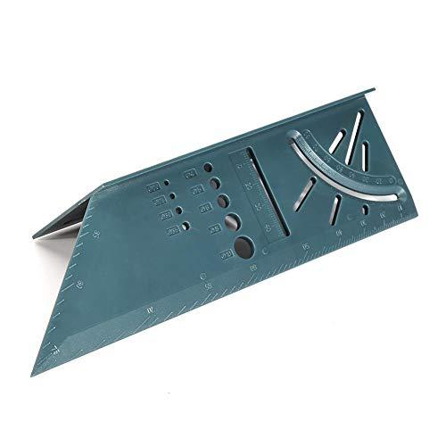 Escuadra 3D Carpintería Ángulo 3D Regla Woodcraft Trazador de medición de ángulos...