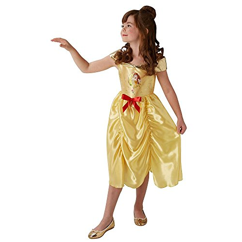 Fairtytale belle - disney princess - bambini costume - medium - 116 centimetri - età 5-6