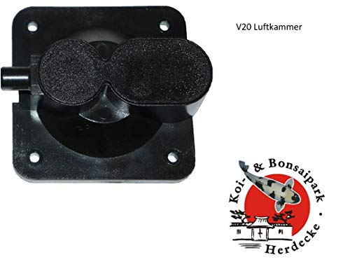 Ersatzteile V Serie Luftpumpe V10/V20/V30/V60 für Aquaforte Luftkammer V-20 50 x 50 mm