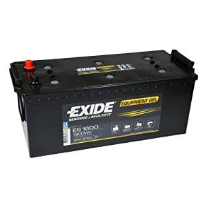 Wohnmobil Batterie: Lasermax Exide Equipment GEL ES 1600