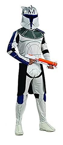Star Wars Clone Trooper Captain Rex Kostüm Herren Herrenkostüm Storm Gr STD - XL, Größe:M/L (Star Wars Clone Trooper Kostüm Kinder)