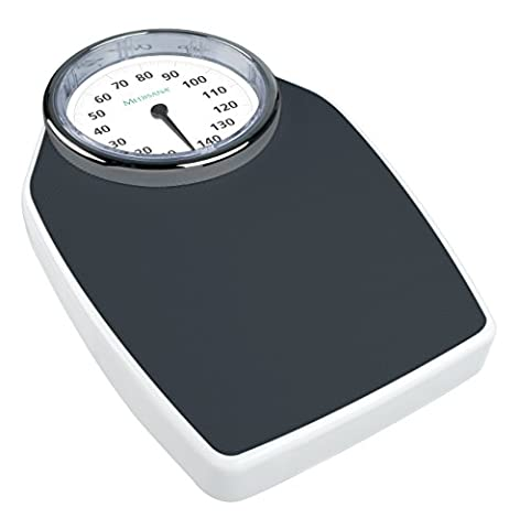 Medisana PSD Personenwaage im Retrodesign mit analoger Vollsichtskala (bis 150kg)