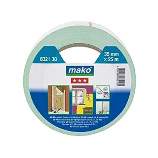 mako Duoband 60°C; ca. 35mm x 25 m; grün/weiß