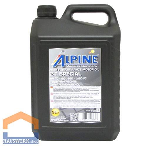 Alpine 2T Zwei-takt-öl teilsynthetisch selbstmischend 5Liter -