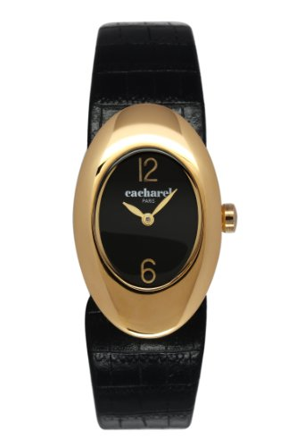 cacharel-cld-1aa-008-womens-quartz-analogue-watch-black-face-black-leather-strap