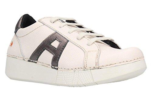 ART Chaussures 1134S Grain Soft Blanc Anthracite