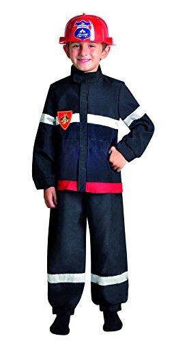 Imagen de cesar  disfraz de bombero para niño, talla 3  5 años f173 001