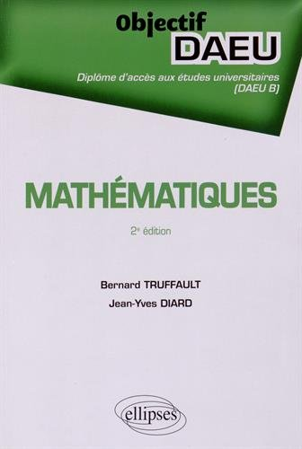 Mathématiques Objectif DAEU B