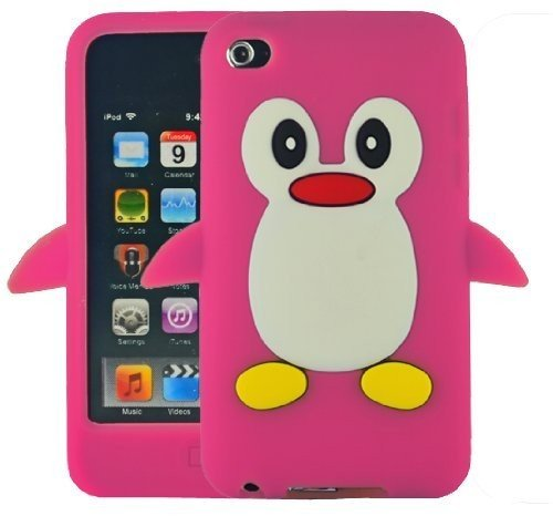 sks-distributionr-caliente-rosa-silicona-pinguino-funda-carcasa-cover-para-apple-ipod-touch-4