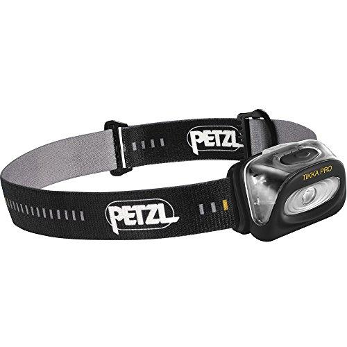 Petzl, Lampada Frontale Unisex Adulto Tikka 3 PRO, Nero (Black), Taglia Unica