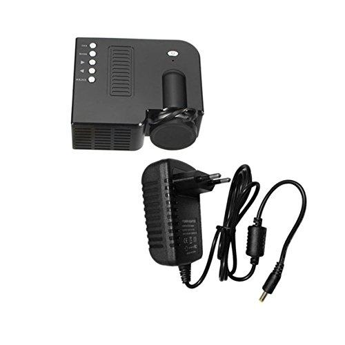 Uc28b mini portable led proiettore 1080p multimedia famiglia cinema home theater usb ingresso scheda tf mini beamer per pc laptop