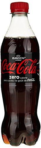 Coca-Cola Zero 4 bouteilles de 500ml