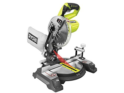 41E%2BtxaJxkL - NO.1 BEST POWER TOOL REVIEW Ryobi EMS190DCL ONE+ Mitre Saw, 18 V (Body Only) COMPARE BUY PRICE UK