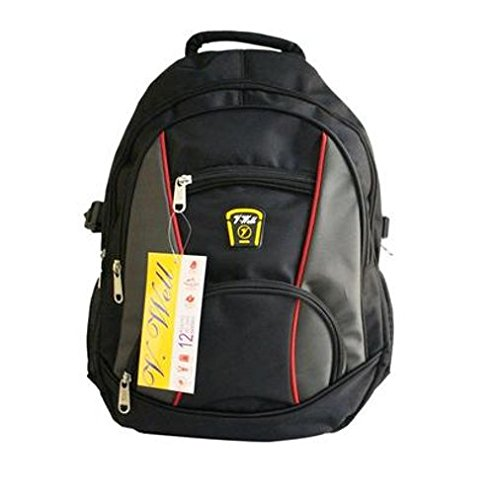 Vwell Mens   Girls   Boys Premium Black Backpack   School .. Rs. 4999 b47e08de80257