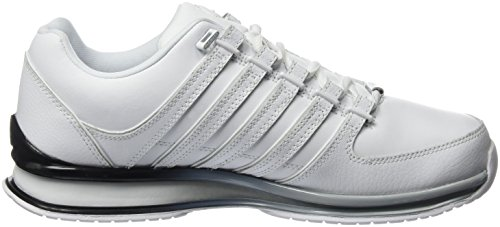 K-Swiss Herren Rinzler Sp Fade Low-Top Weiß (WHITE/HIGHRISE/BLACK)