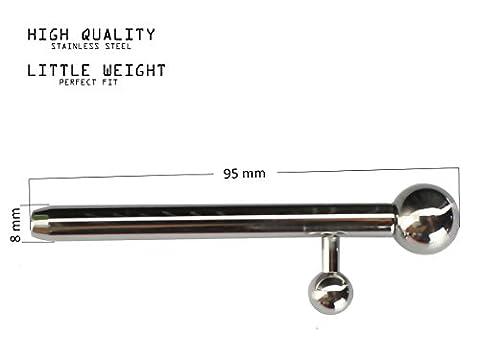 Sondes Uretre - Super Stretching Penis Plug métal en acier