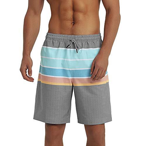 6e36ddb499b4 Balcony&Falcon Costume da Bagno Uomo, Short da Bagno Uomo Pantalocini Boxer da  Bagno Calzoncini Uomo