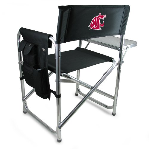 Picnic Time Washington State Cougar Sports Chair (University State Cougars Washington)