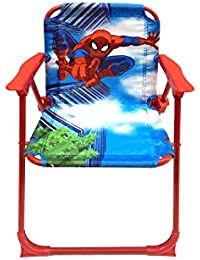 Orangeidea Kids SPIDERMAN Folding Chair / Easy Foldable Chair For Kids Featuring Trending Cartoon Character