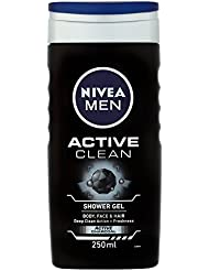 Nivea For Men Active Clean Shower Gel Body Wash 250ml …