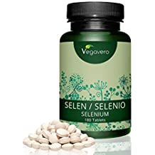 Selenio 200 mcg | ORIGEN VEGETAL: Levadura de Cerveza | Para 6 Meses | Antioxidante