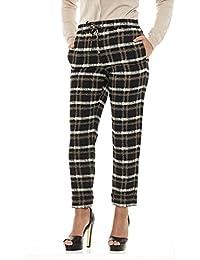 549a430570c7 ARMANI JEANS Pantaloni Donna a Quadri vestibilità Comoda cod 6Y5P04 5NBRZ