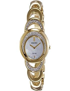 Seiko Damen-Armbanduhr Analog Quarz Edelstahl SUP298P1