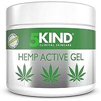 Gel actif pour soulager articulations & muscles – Formule à l'huile de cannabis hautement efficace et riche en extraits naturels par 5kind. Soulage les pieds, les genoux, le dos, les épaules (300ml)