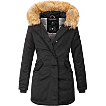 low cost 862e4 16112 Suchergebnis auf Amazon.de für: schwarzer parka damen - Marikoo
