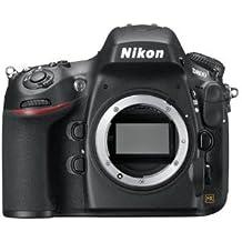 Nikon D800 SLR-Digitalkamera (36 Megapixel, 8 cm (3,2 Zoll) Monitor, LiveView, Full-HD-Video) Gehäuse schwarz (Generalüberholt)