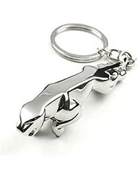 Chain Art Jaguar Metallic Key Ring Key Chain